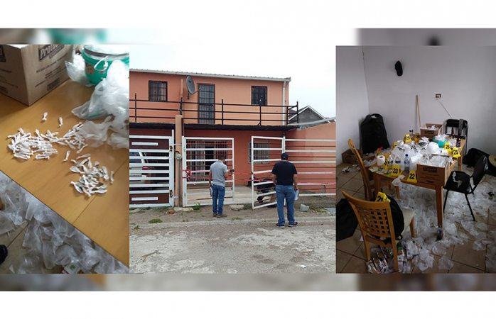 Aseguran narcolaboratorio en Cuauhtémoc