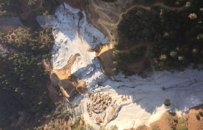Encuentran restos humanos en búsqueda de mineros en Urique