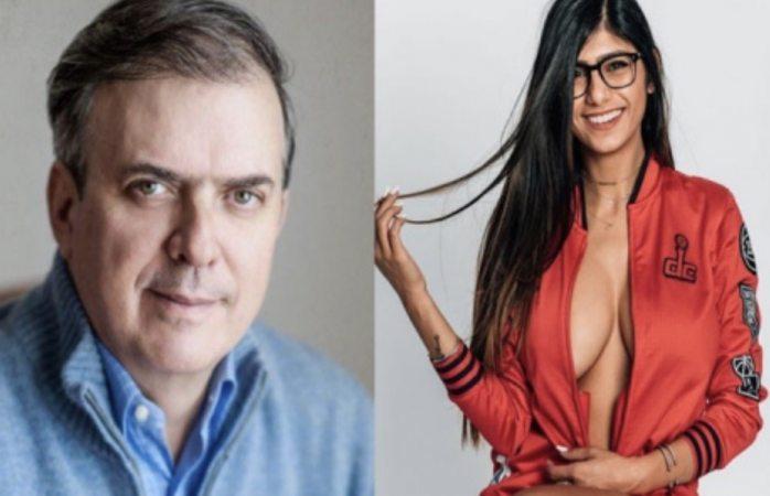 Marcelo Ebrard confunde a estudiante con estrella porno