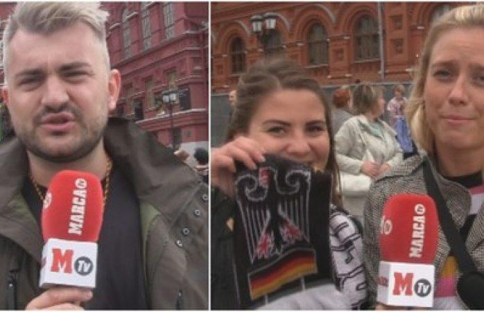 Periodistas alemanes en Rusia, no saben nada de México