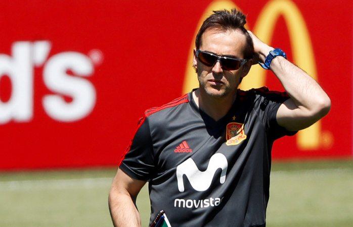 Julen Lopetegui, nuevo entrenador del Real Madrid tras la disputa del Mundial
