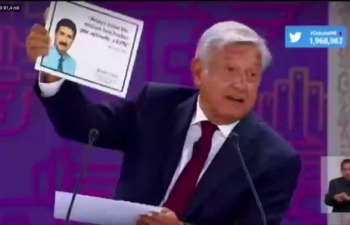 Saca Amlo imagen de Corral en el debate