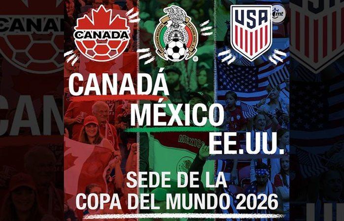 México-EU-Canadá, sede del mundial 2026