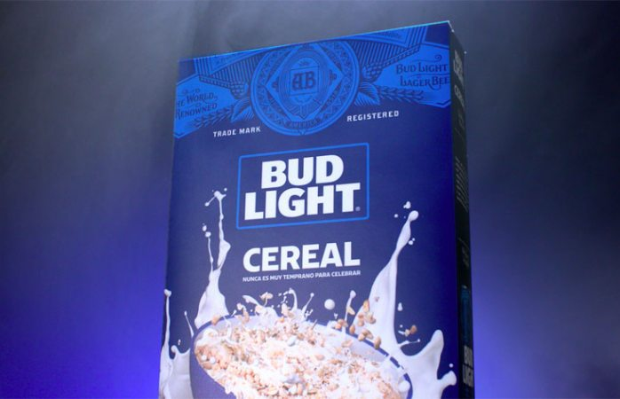 Anuncia Bud Light cereal sabor cerveza