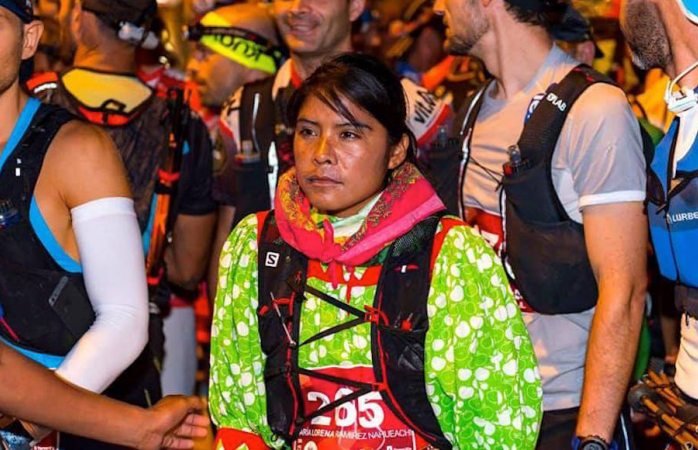 Lorena Ramírez, la rarámuri que subió al podio de un ultramaratón en las Islas Canarias