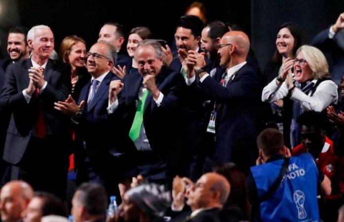 Trump celebra por Mundial de 2026; felicita a México y Canadá