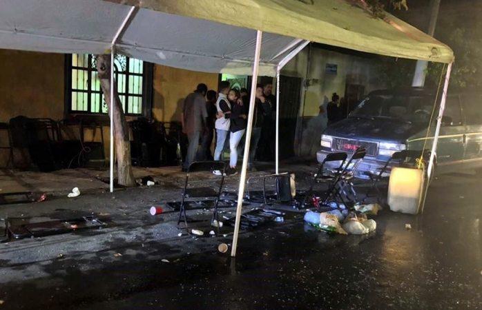 Rafaguean armados velorio en Jalisco; dos muertos