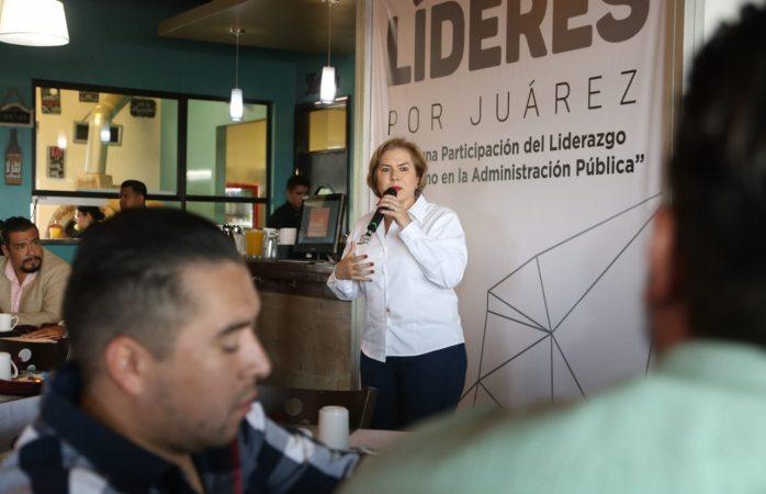 Dará continuidad Adriana Terrazas al proyecto de Centro Histórico