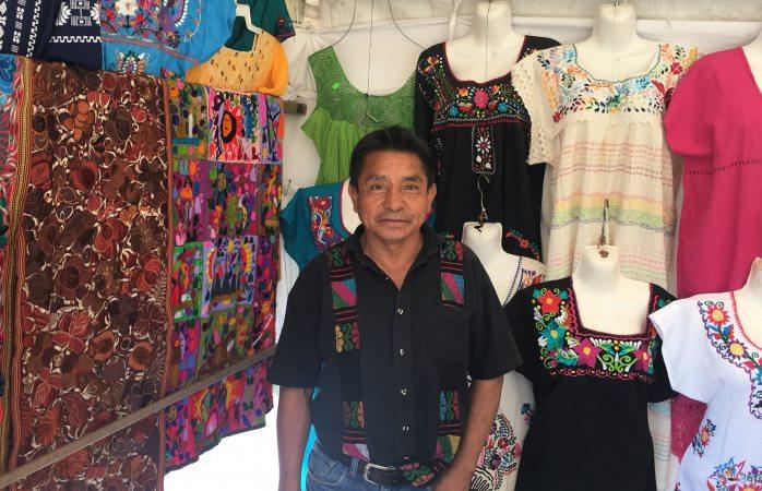 Se instala 4ta exposición artesanal de Oaxaca