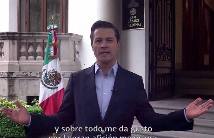 El futbol sabe que México, EU y Canadá estamos unidos: Peña