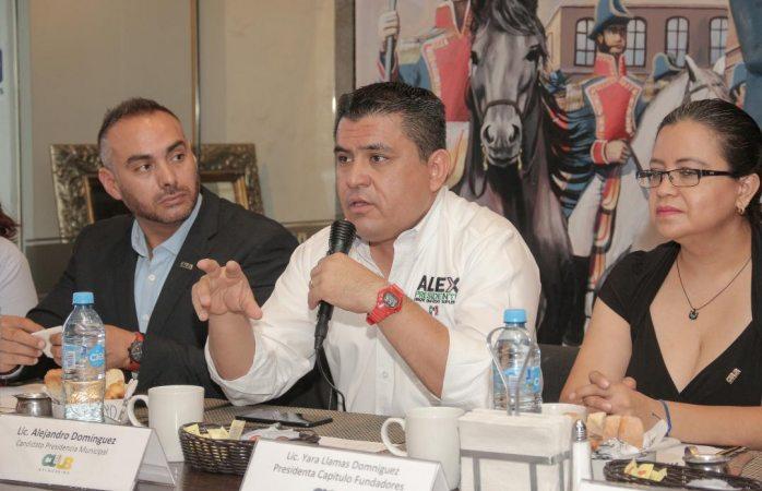 Recuperaré espacios para que exista cohesión social: Alex Domínguez