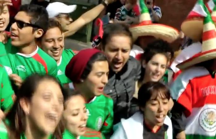 Vídeo; la picardía mexicana en Moscú