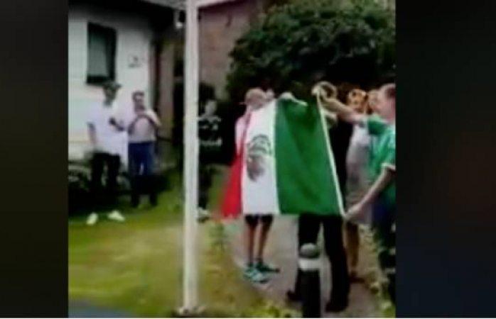 El gesto viral de un grupo de alemanes tras el contundente triunfo de México