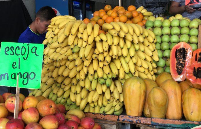 Plátano al doble del precio desde el año pasado