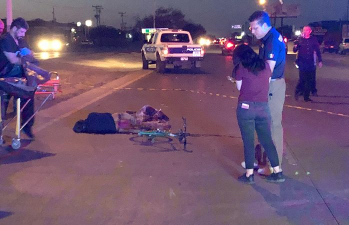 Muere ciclista tras ser atropellado en la carretera a Aldama