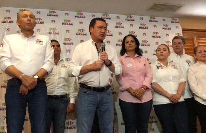 Corral está descalificado por ciudadanos: Osorio Chong