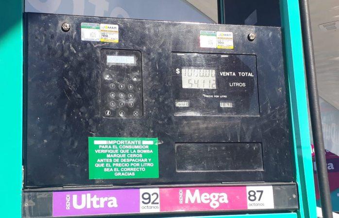Va subiendo precio de la gasolina