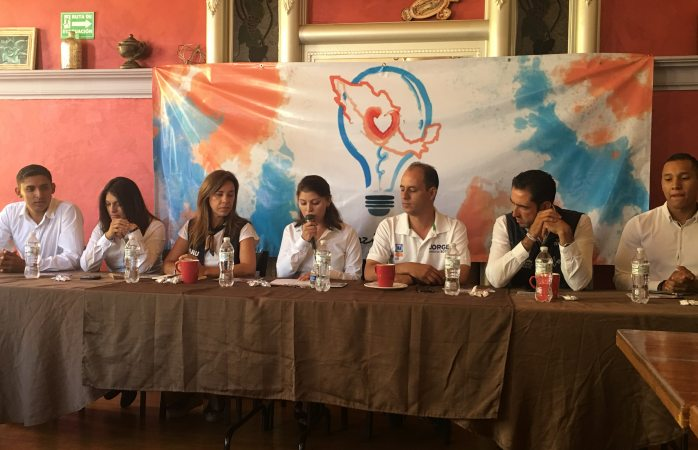 Jovenes se pronuncian a favor de coalición PAN, PRD y MC