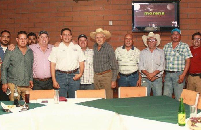 Se reúne Cruz Pérez Cuellar con productores y se le unen liderazgos políticos