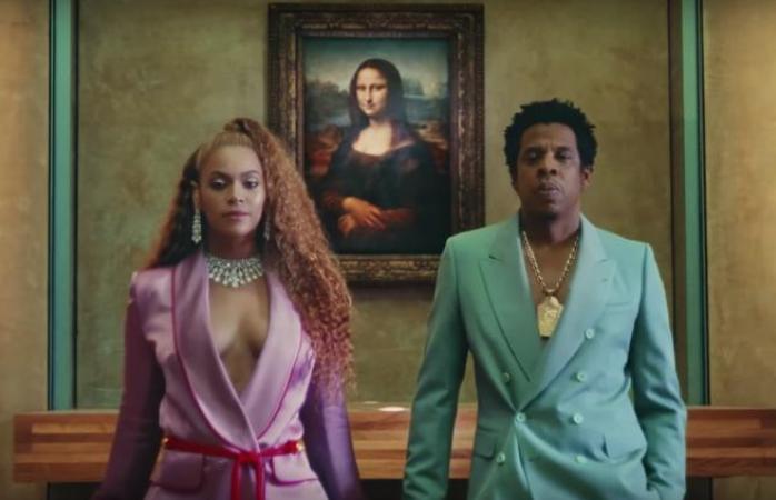 Beyonce y Jay Z, muestran impresionante vestuario en vídeo filmado en Louvre