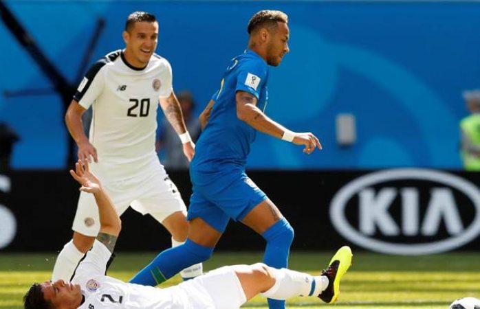Elimina Brasil a Costa Rica del mundial