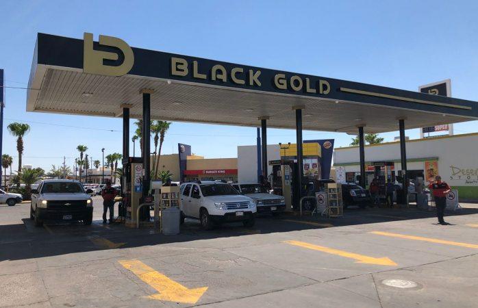 Prefieren delicienses gasolina en Black Gold porque dura más