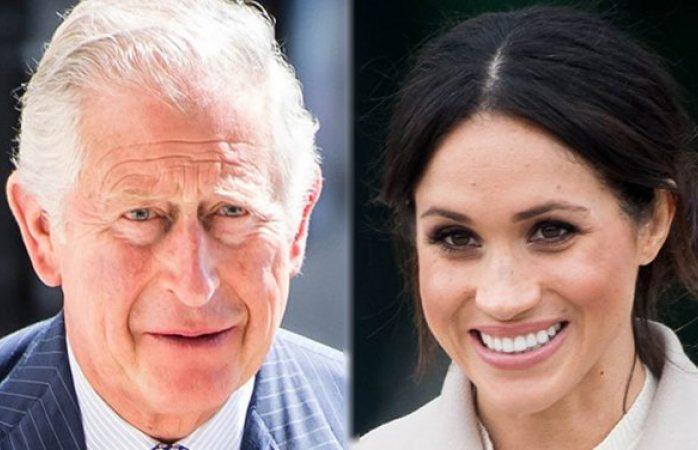 El príncipe Charles llama Irreverente a su nuera Meghan Markle