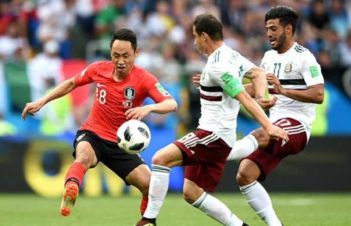 Se acaba primer tiempo y México gana con gol de Vela