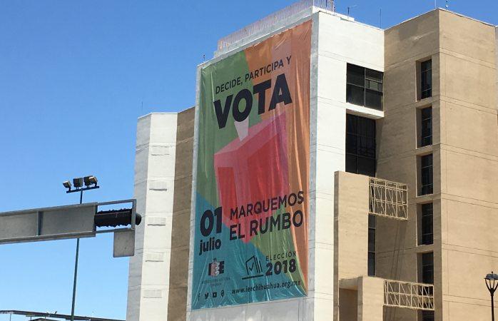 Promocionan el voto en edificios de gobierno