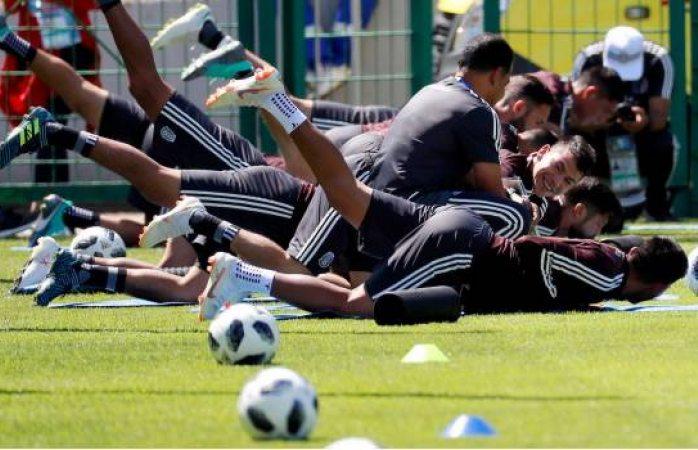Osorio sólo hace una rotación respecto al encuentro contra Alemania
