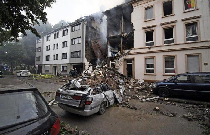 Explosión en edificio de Alemania deja 25 heridos