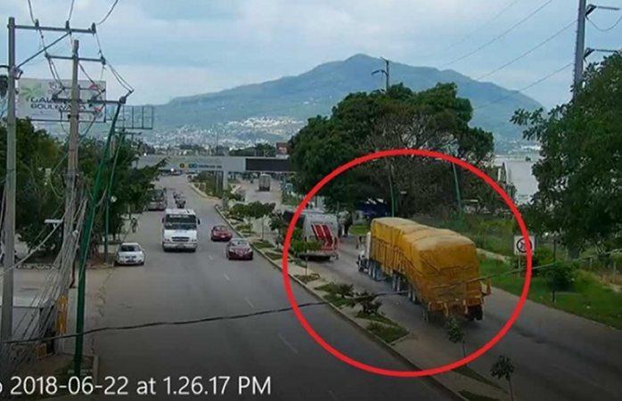 Video: captan accidente que dejó 7 muertos en Chiapas