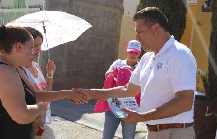 Con el apoyo de la gente vamos a ganar esta elección: Fermín Ordóñez