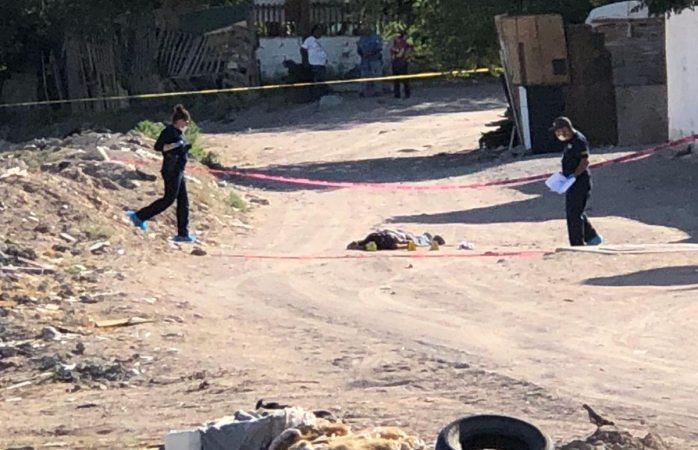 Matan a hombre frente al panteón colinas de Juárez