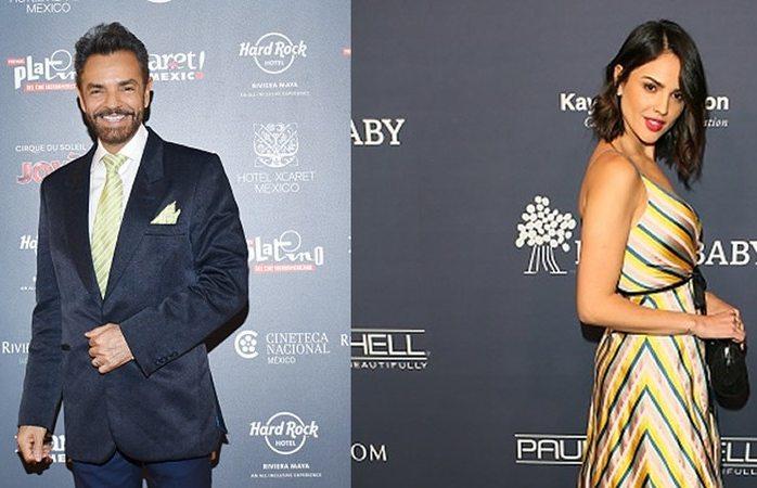 Tunden en redes a Eiza por vestido de los Oscar