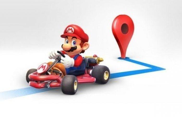 Mario Bross llega a Google Maps