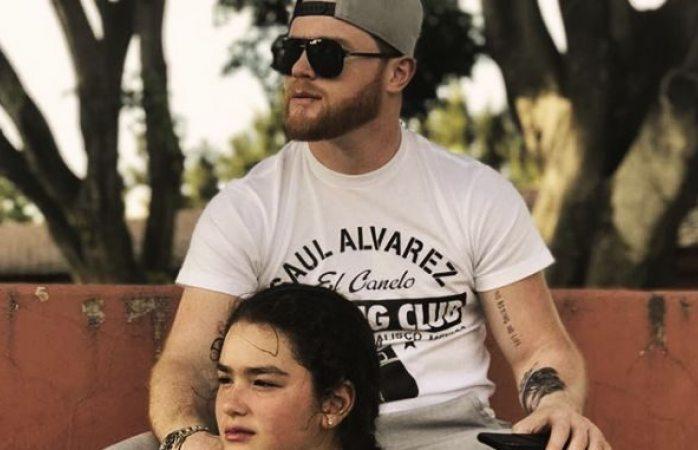 El Canelo publica tierna foto con su hija
