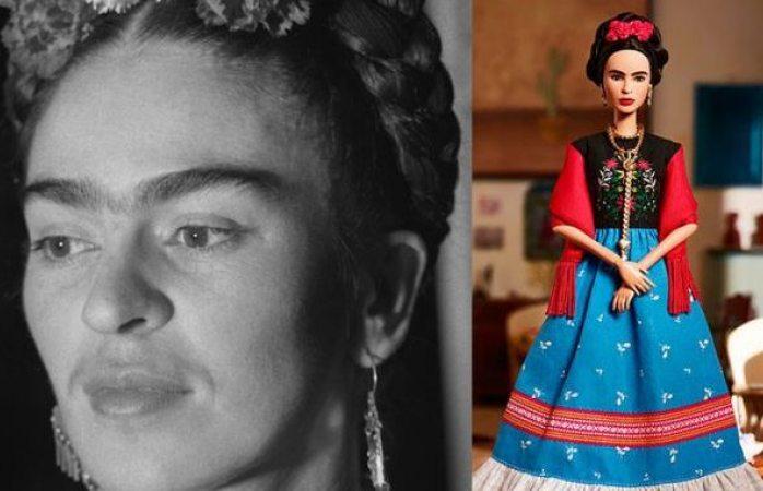 Dice Salma Hayek que la barbie Frida luce rígida
