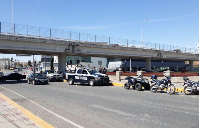 Realizan agentes operativo en el centro por reporte de disparos; fue falsa alarma