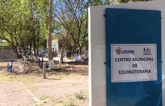 Maru abre las puertas del Centro de Equinoterapia remodelado