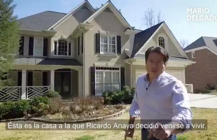 Vídeo: la casa de Anaya en Atlanta