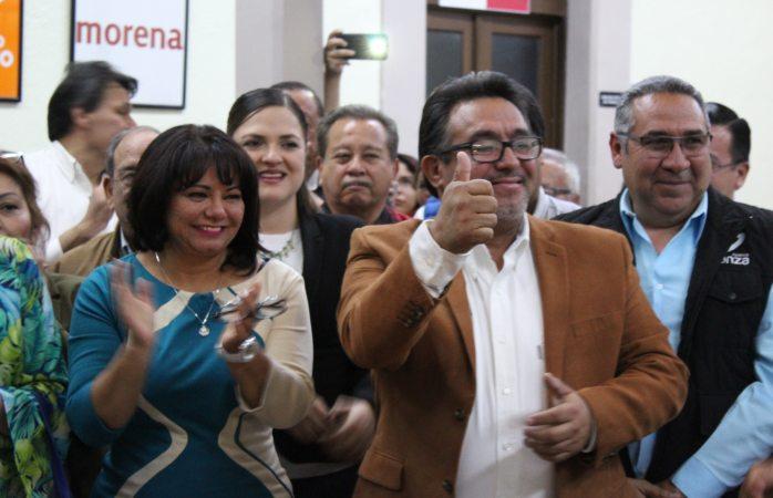 Se registran para el senado por Panal Patricia Alamillo e Isidro Villalba