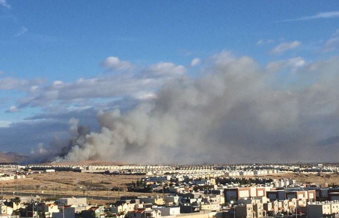 En Vivo: Se incendia el relleno sanitario