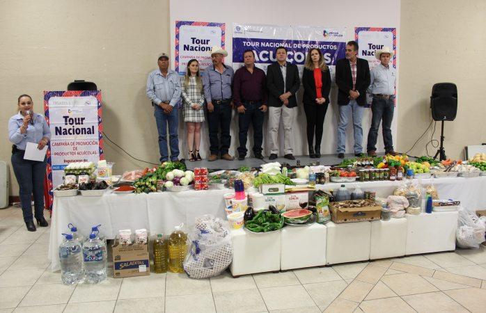 Promueven el consumo de productos agrícolas con degustación