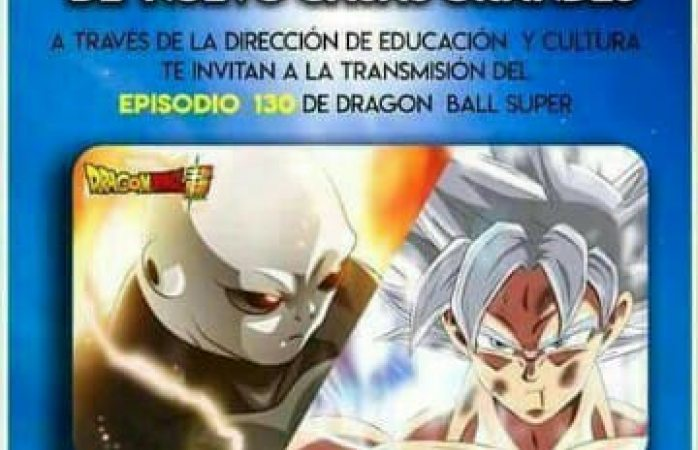 Trasmitirán en NCG capitulo final de Dragon Ball Super