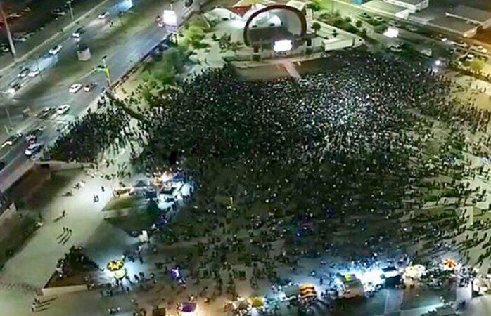 Asistieron 15 mil personas a ver Dragon Ball en Juárez