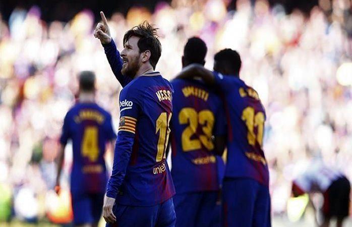 Imparable Barcelona, vence al Bilbao en La Liga