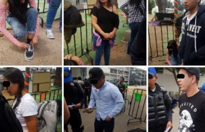 Detienen a 13 falsificadores de boletos del Vive Latino