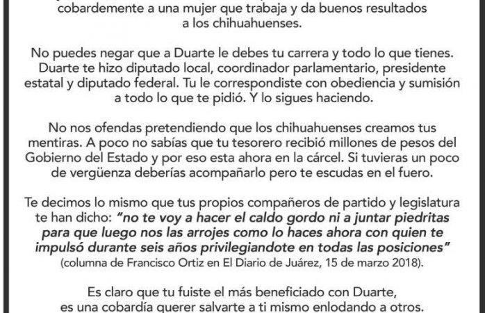 Responde PAN sin firmas a Alejandro Domínguez