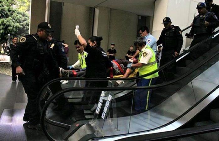 Se presenta tiroteo en plaza comercial de la CDMX